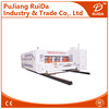 [RD-A1200-3000-4] 4 color corrugated carton automatic flexo printer slotter & die cutter