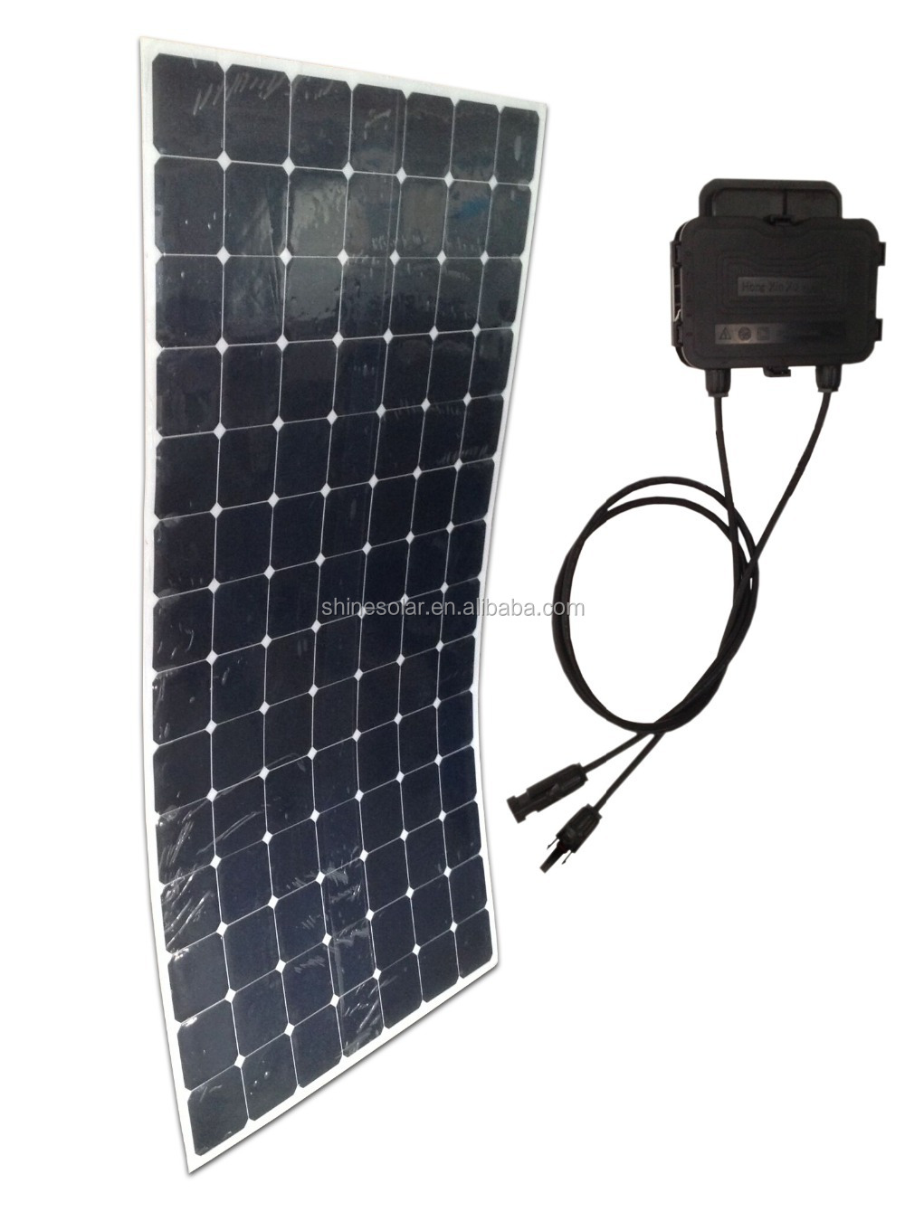 largest power solar rolling pv panel flexible 300w