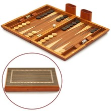 13 Inch High Quality Backgammon Wood Personalized backgammon Set