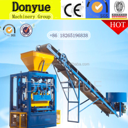qt4-24 soil block making machine/cement fly ash brick making machine cost/construction block machine