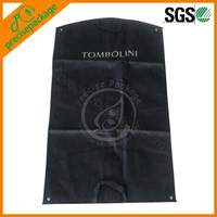 foldable zip lock non woven garment bag for easy carrying
