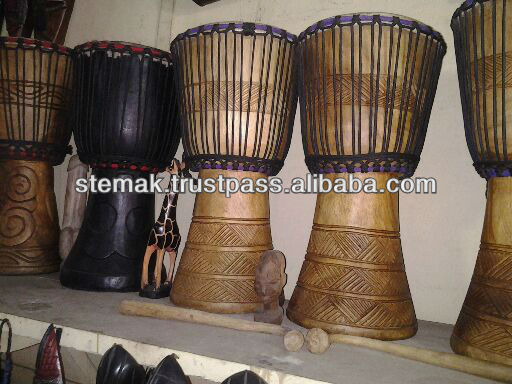 Traditional African Djembe Drums