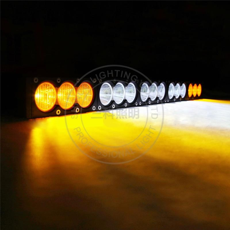 remote control led light bar amber off road marine light 4x4 boat engine searchlight