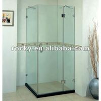 4-19mm high quality glass unit glass partition for bathroom