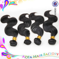 100% unprocessed premium quality machine weft human hair weave