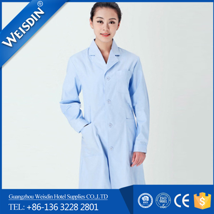 cheap price Guangzhou wholesale polyester/ rayon nurse uniform/medical scrubs
