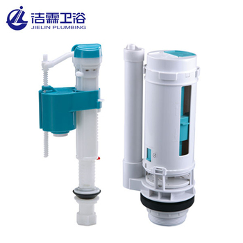 High quality two piece 2 Inch toilet flush fitting plastic cistern mechanism