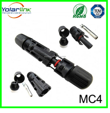 IP67 Waterproof Solar power system cable connector mc4 compatible connector