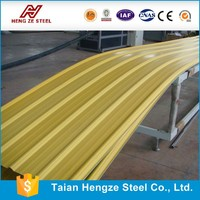 corrugated coated coloring steel roof sheet, building construction materials of roofing steel sheet, cheap metal roofing sheet