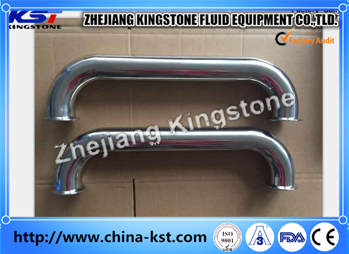 3A Approved Sanitary Stainless Steel Pipe Fittings Welded/Clamped Tee