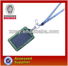 The Cheapest Price Rhinestone Lanyard with ID badge holder In market for sale