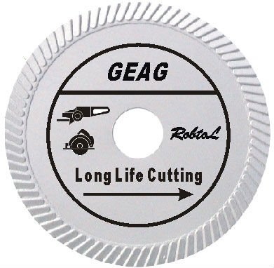 (GEAG)Slant Turbo Diamond Blade for Long Life Cutting Hard and Dense Material-sunny