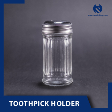 Taiwan Supplier Glass Toothpick Holder With Cover