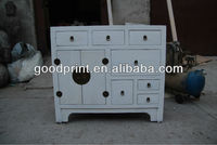 Reproduction wood furniture living room sideboard cabinet