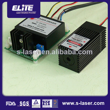 Dot line and cross dpss laser module green with TEC cooler