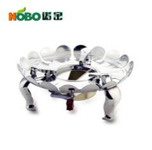 Stainless steel camping gas stove parts