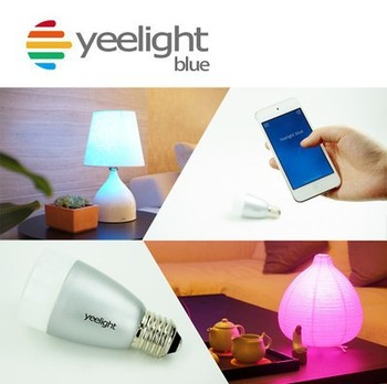 Smart Light Bulb Yeelight Blue II 100 - 240V Smart LED Lamp E27 6W Music LED Color Light Bulb Bluetooth for iOS Android System