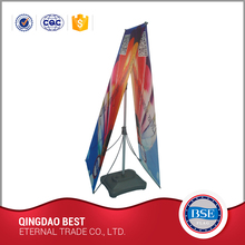 Trade show equipments new design aluminum x banner stand/display stands
