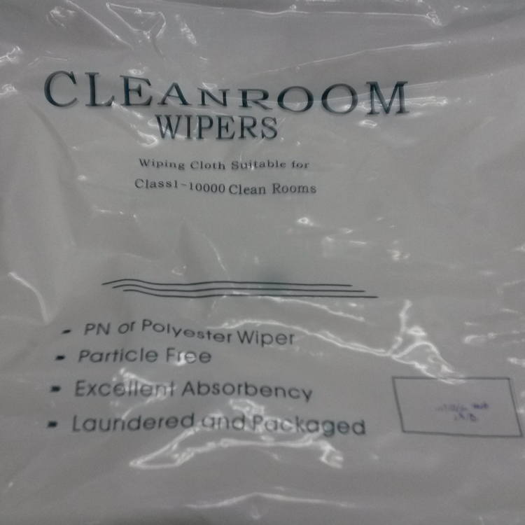 18M Ultra Pure Water To Wash 100% Polyester Wiper Cloth