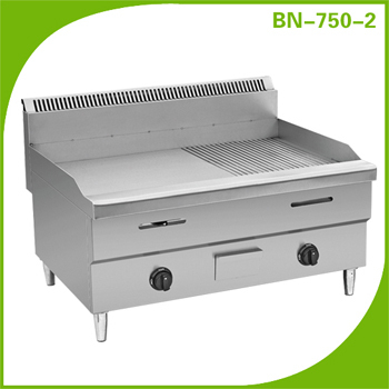 Industrial Takoyaki Griller Equipment Gas 3-Head Fishball Cooker/ Japanese Octopus Maker GW-63
