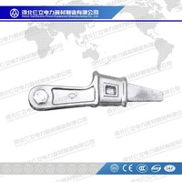Guy Wire Fitting NX Type Wedge Clamps For Electric Overhead Power Line Fitting