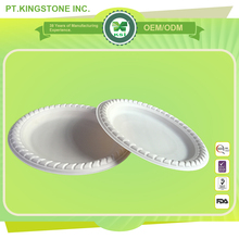 wholesale customized biodegradable plate for picnic