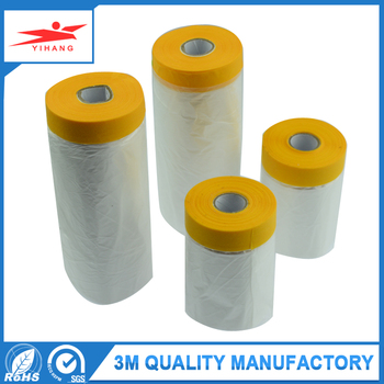 Customized Size Printing Paper Die Cut Masking Tape For Spraying Car
