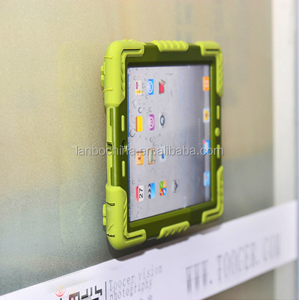 shockproof case with kickstand sticker for ipad