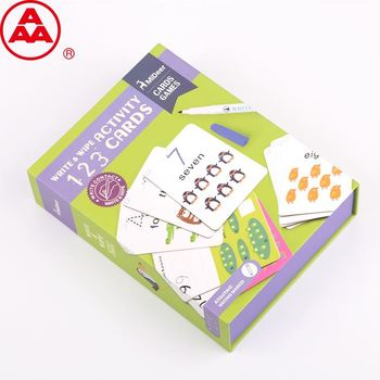 High quality baby playing cards kids cards