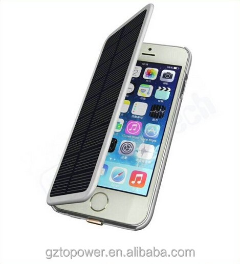 China supplier wholesale portables charger for iphone solar charger case battery case 3800mah