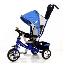 2016 hot sale Factory manufacturer Wholesale Children Trikes/Steel Iron Frame Kids Smart pedal Baby Stroller Tricycle