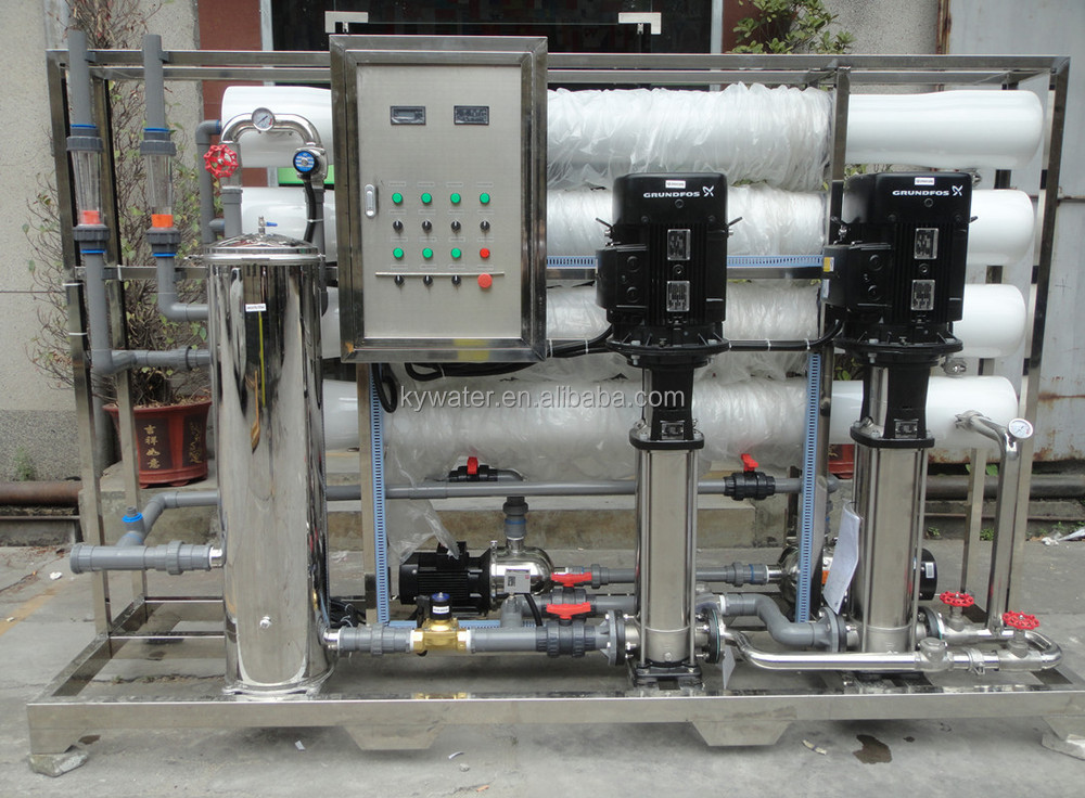Factory Direct Sales 8000lph Ro Water Filter Machine