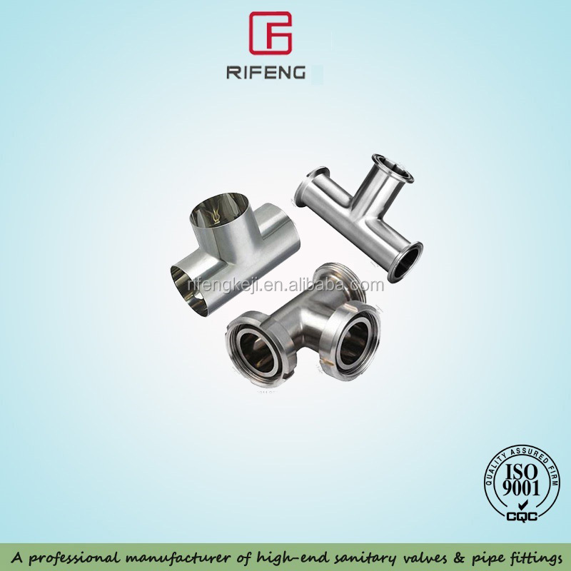 Stainless Steel Pipe Fitting Tee/ Triplet manufacturer