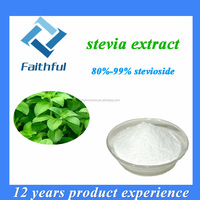 Stevia Leaf extract Stevioside Powder 80% 85%/Free Samples Stevia Extract Stevioside