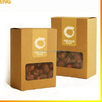 customized paper frozen food box packaging
