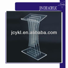 Acrylic podium, Acrylic glass pulpit