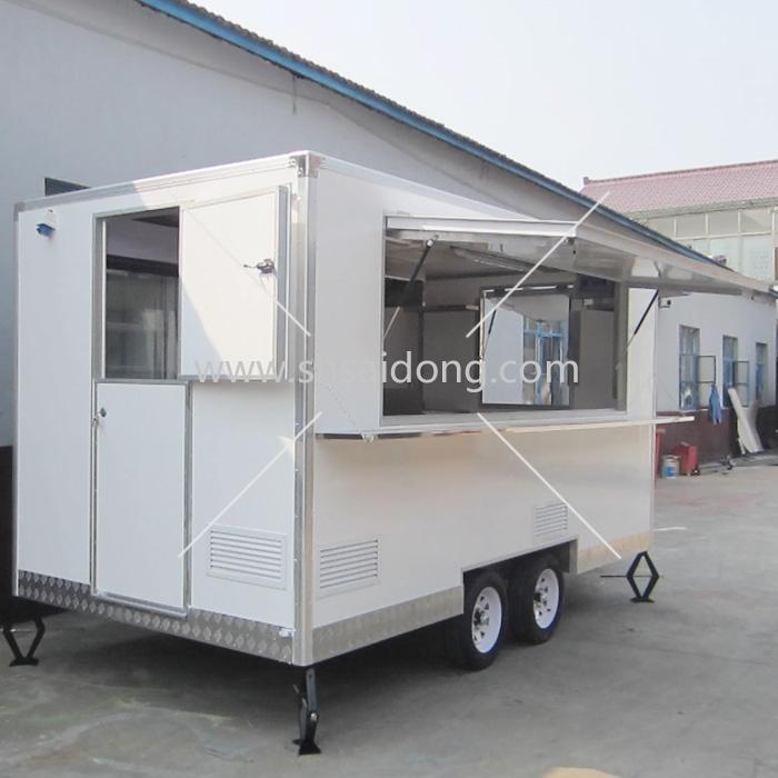 Oem Mobile Kitchen Carfood Kiosk For Sale Saidong Fvr35tw 40.