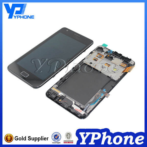 Original lcd display for samsung gt-i9100g galaxy s ii for samsung galaxy s2 i9100 lcd screen assembly