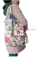 China supplier foldable cute eco tote polyester shopping bag