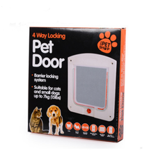 OEM ODM hot sale cheap price plastic PP pet side door flap for small dogs, cats