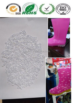 PVC Raw meterial for crystal shoes