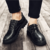 lx20052a 2018 new style casual vintage genuine leather business dress shoes for men