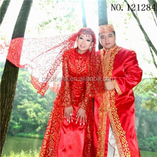 wholesale National Costume islamic Fashion Design Baju Kurung muslim wedding dress