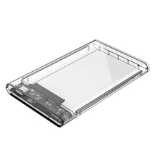 ORICO 2139C3 USB3.1 Type C Transparent External Hard Disk Box Storage Case for 9.5mm 2.5 inch SATA HDD / SSD