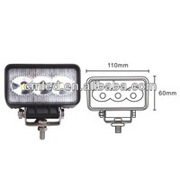 2014 hot 9W 10-30v led work light for motorcycle