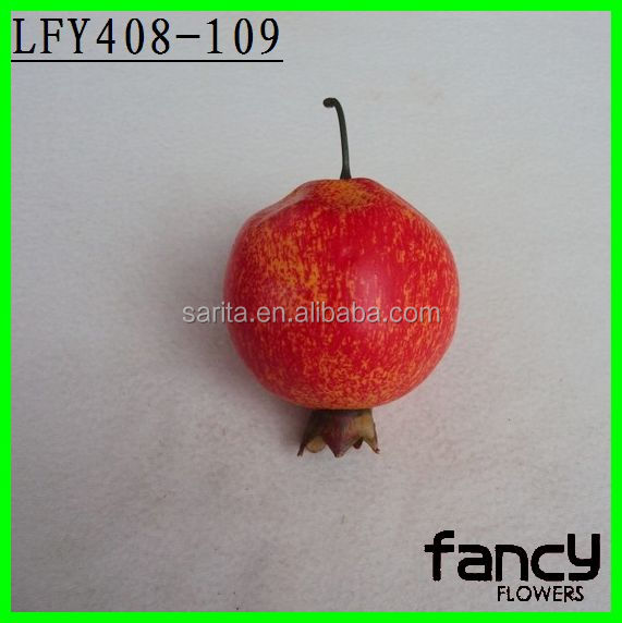 Decorative pomegranate wholesale artificial fruit