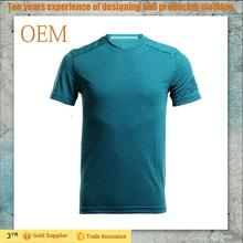 China Supplier High Quality Men's Running t shirts Breathable Quick Dry Plain Men's t shirts