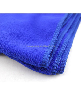 Blue Microfiber Car Household Cleaning cloths Wash Towel Super Soft Clean Wipe Cloth