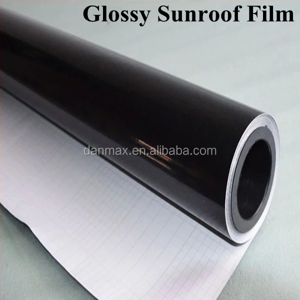 1.52*15M Black Car Sun proof Tinting Protective Film