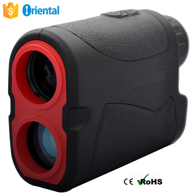 Laser Range finder 600m handheld waterproof golf slope compensation inner LCD display jolt laser Speed Detect